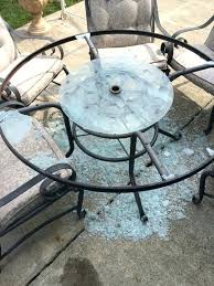 broken glass table outstanding replacement glass table top for patio furniture home design ideas patio table