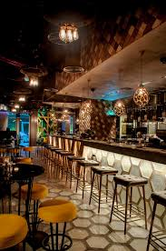 restaurant bar lighting. led lighting design custom solutions for bu trinity restaurant in abu dhabi bar e