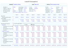 lease or buy calculation comparative lease analysis commercial real estate lease analysis
