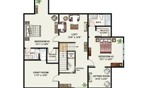 house plans with great room in front