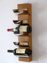 ... Modern Wine Racks Wall : Modern Contemporary Home Furniture Design Of  Brown Wood Wine Wall Shelf ...