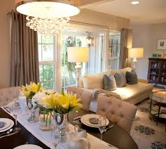 Dining Room And Living Room Unique Decoration