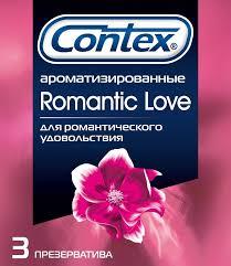 <b>Презервативы</b> Contex <b>Romantic Love</b>, <b>презерватив</b>, 3 шт., LRC ...