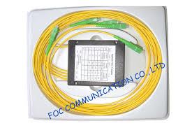 Plc Splitter Loss Chart Abs Module Optical Fiber Plc Splitter 1 4 For Passive