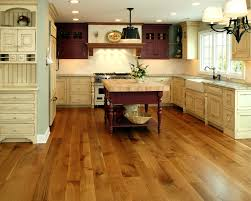 White Kitchen Wooden Floor Current Trends In Hardwood Flooring