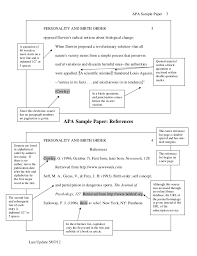Apa Sample Paper By Chaffey College Writing Center