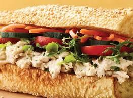 au bon pain herb en salad sandwich