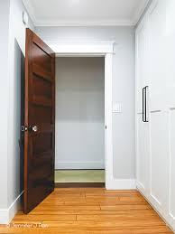 interior wood panel door