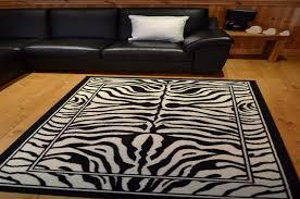 black and white animal print rugs