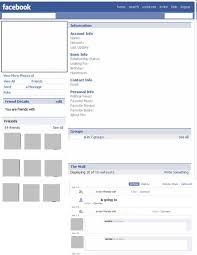 blank facebook page worksheet. In Blank Facebook Page Worksheet