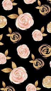 Rose Gold Flowers Wallpapers ...