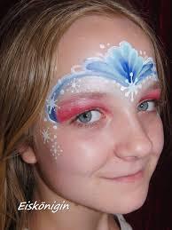 face painting frozen
