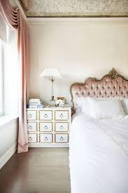 Best 25+ Pink headboard ideas on Pinterest | Pink sofa inspiration ... & Blush-pink silk velvet is used for the headboard and drapery. Adamdwight.com