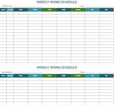 Schedule Forms Printable Free Printable Weekly Dinner Planner Template Calendar