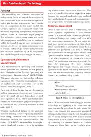Limiting Factors In Turbine Design Gas Turbine Repair Technology Pdf Free Download
