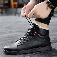 best top <b>mens</b> leather <b>boots snow</b> ideas and get free shipping - a833