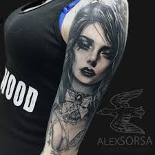 Tattoos Inked Portrait Photorealistic Tattoos тату чернила и