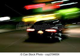 car driving away at night. Simple Driving Car In Motion Driving Away At Nigh  Csp2194654 To Driving Away At Night R