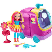 Sunny Day Glam Vanity Rolling Vehicle & Doll Playset - Walmart.com