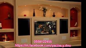 D Coration Ba13 Placo Platre Meuble Tv Avant Spr Yacine Doucha