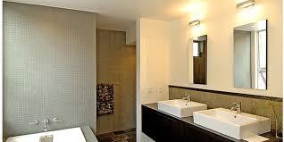 wall track lighting for bathroom