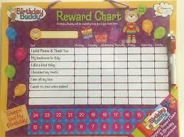 Birthday Buddy Magnetic Reward Chart And Birthday Countdown
