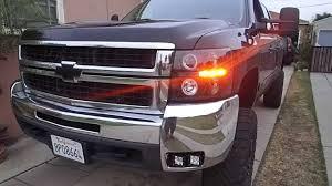 Chevy Silverado Rigid LED fog lights. - YouTube