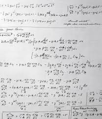 suit seeks compensation for einstein papers lost in lick fire  a detail from a copy of mathematical equations written by albert einstein dan straus has