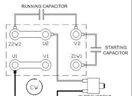 capacitor start run motor wiring diagram wiring diagram 110 to 220 volt wiring diagram likewise a c condenser motor furthermore single phase capacitor