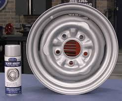 rally wheel paint argent silver aerosol spray for steel