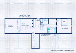 Stunning One Story Garage Apartment Floor Plans Ideas  Home Shop Apartment Plans