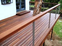 Cable Deck Railing Ideas Three Dimensions Some Excellent Ideas