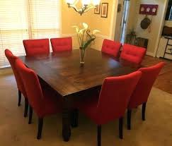 square dining table seats 8 square dining table seats 8 dimensions for stylish furniture tty s