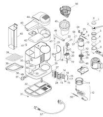 delonghi coffee maker spares accessories bco250f delonghi bco250f exploded spare parts diagram