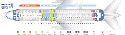 Seat Map Boeing 767 300 United Airlines Best Seats In Plane