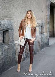 3 sizzling leather jacke for women 9