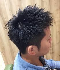 刈り上げをプラス不動の人気ベリーショートのデキる男ヘア 福島