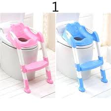 toilets toddler toilet seat cover wish baby potty with ladder children kids folding infant chair