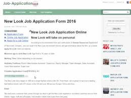 New Look Job Application Online Careers 2019 Job