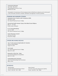 Resume Examples For Year 9 Students Beautiful Resume Example For