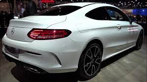It combines dynamic proportions with reduced design lines and sculptural surfaces. 2021 Mercedes C Class Coupe Sport Edition Interior Exterior Walkaround Auto Show Brussel Youtube