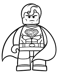 Small Picture Harley Quinn From The Lego Batman Movie Coloring Page Free