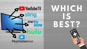Channel Lineups Youtube Tv Hulu Live Sling Tv And More