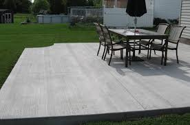 concrete patio companies frisco basic backyard patio