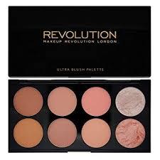 makeup revolution ultra blush and contour palette hot e