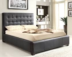 Elegant, expertly crafted, and multi-functional Athens Black Bonded Leather  Bed - AtHomeUSA by at Home USA. Urban C..