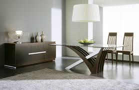 Wenge Living Room Furniture Wenge Finish Contemporary Dining Table W Satin Steel Base Design