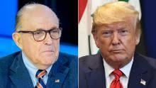 Rudy Giuliani (left) & Donald Trump (right)