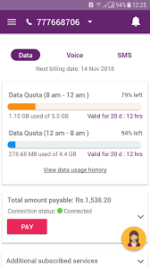 quickly check your dialog data usage