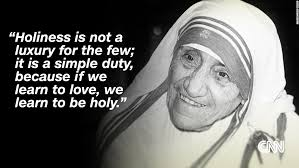 mother teresa declared a saint before huge crowds in the vatican cnn mother theresa quote 13